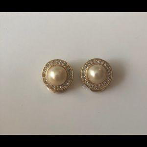 Vintage DIOR Earrings w/ Clip Closure